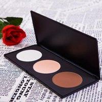 Wholesale 3 Colors Multipurpose Pressed Face Powder Concealer Make Up Palette Makeup Cosmetics Set P3 V1053A