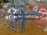 Cheap on sale 1.5inflatable body zorb bumper ball human hamster ball bubble football bubble soccer bubble suit loopy ball