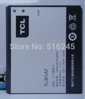 Wholesale 2pcs TLiB5AF Battery mah v for ALCATEL battery with tracking code