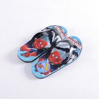 Wholesale PrettyBaby Cartoon Spiderman Summer Slippers Big boys Flip Flops Kids Beach and Home High Quality pairs