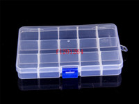 Wholesale New Arrival compartments free installation demolition Transparent PP plastic jewelry storage box