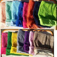 Wholesale 10 inch lined tutu top crochet tube top for girls crochet pettiskirt tutu tops hotsell