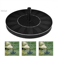 Wholesale 2015 New Solar Panel Water Floating Fountain Pool Pond Power Water Pump Kit