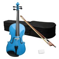Wholesale 15 quot Acoustic Viola Case Bow Rosin Blue58231 ST