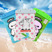 big apple bag - Universal Cartoon Baymax Big Super Hero Waterproof Dry Case Cover Bag Pouch Underwater Diving for iPhone Plus Mobile Phone