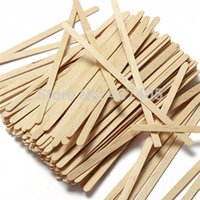 popsicle stick - 100pcs Wooden Popsicle Stick DIY Craft Tool Ice Cream Sticks Coffee Tea Stirrers Mixers