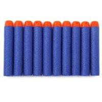 Wholesale 300pcs cm Nerf N strike Elite Rampage Retaliator Series Blasters Refill Clip Darts toy gun soft nerf bullet WJ02