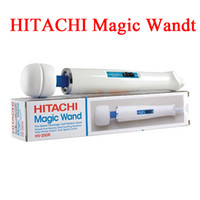 Wholesale 2015 New arrival Hitachi Magic Wand Massager AV Vibrator Massager Personal Full Body Massager HV R V with retail box from Airmen