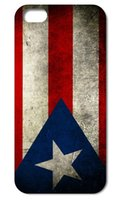 Plastic puerto rico - 1PC Retro Puerto Rico National Flag hard back cover case for iphone S S C plus