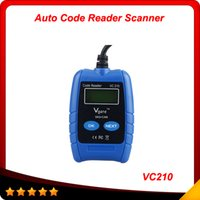 Wholesale 2014 Professional VAG Auto Scanner VC210 OBD2 OBDII EOBD CAN Code Reader Diagnostic Tool High quality