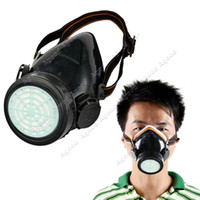 chemical respirator mask - New Respirator Gas Mask Safety Anti Dust Chemical Paint Spray Single Cartridge TK0856