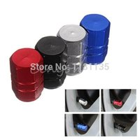 Wholesale 4pcs Aluminum Tire Rim Valve Tire Air Valve Stem Caps Car Truck ATV Wheel Rim