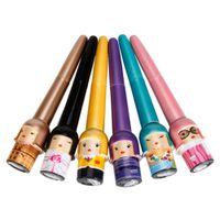 Wholesale LINGMEI Liquid Eyeliner Eyeliner Pen Set Random Color sets