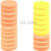 Wholesale 20Pcs mm Inch High Gross Buffing Polishing Pad Kit for Car Polisher new