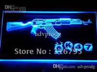 other Night Bar  801-b AK47 NEW KALASHNIKOV Airsoft Gun Neon Light Sign
