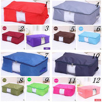 home bedding - 12 colors New Arrival Travel Storage Bags Clothing Bedding Organizer Sorting Pouch Home Storage Bag Stuff Sacks Handbag LJJC325 sets