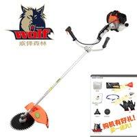 Wholesale Stramework small rotary petrol lawn mower brush cutter grass trimmer weeding machine household