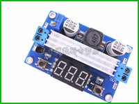 Wholesale High power Adjustable Power Supply Boost DC DC power modules input V Boost output V W with digital voltmeter