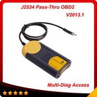 auto diagnostic device - Multi Di g Access J2534 Pass Thru OBD2 Device Multi Diag multi diag V2013 Auto diagnostic tool