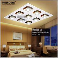 lmpara de techo moderno led lustre lmpara de vidrio luminaria led de acero inoxidable para casa