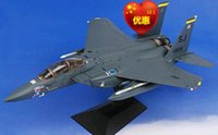 Wholesale Cool Dragon Dragon alloy F E Strike Eagle Captain America nose painting Limited edition collection