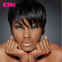 lace wigs for african american - human hair wigs lace wigs glueless lace front human hair wigs for african americans Best brazilian hair wigs New Pixie Cut short