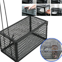 Wholesale Rat Catcher Spring Cage New Pieces Trap Outdoor Humane Live Indoor Animal Rodent Pest Control mice cage garden home house