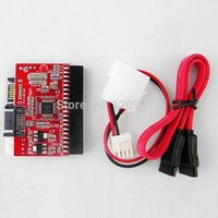 Wholesale IDE to SATA Serial HDD CD DVD Converter Adapter Power SATA Cable F2929 W0