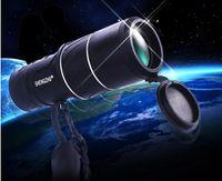 Precio de Lente de enfoque dual-2015 Nuevo telescopio óptico monocular de la lente óptica del zoom doble del foco de la alta calidad 16X52 que acampa que envía libremente
