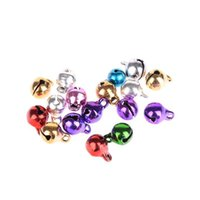 bead findings jewelry craft supplies - New Colorful Small Bell Craft Jewelry Wedding Charms mm Bead Findings Christmas Decoration Supplies
