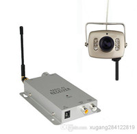 CCD 1.2g wireless camera - Mini Wireless G Security Nanny Cam Camera Hidden Spy Pinhole Led Cam Complete System Receiver Kit