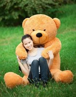 life size doll - EMS cm giant teddy bear plush stuffed animals kids doll life size toy valentine s gift birthday lover gift New Arrival