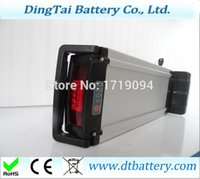 Wholesale black color lithium ion e bike battery v Ah li ion battery pack with A charger for v W motor