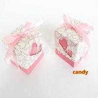 Wholesale Wedding Candy Box Wedding Supplies Wedding Candy Box Birthday Gift Of Love Hollow Box ZY004