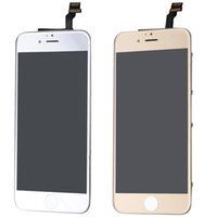apple mirror display - 2015 New quot Silver Golden Color LCD Display Touch Screen digitizer Electroplating Mirror Assembly Replacement Parts Fit for iPhone