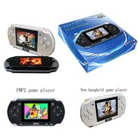 3 inch handheld game console - PMP S Game Players Inch Bit GB Video Games Consoles Portable Pocket PMP Handheld Game Player Support TF Card Expansion Gifts