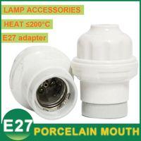 ceramic base - E27 Led Bulb Base Ceramic Sockets Adapter Converter Screw Type Light Lamp Holder Pendant Head Home Engineering Construction A A Power
