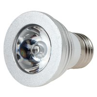 Wholesale 5 W E27 Colors Changing RGB Colourful LED Bulb Energy Saving Lamp with Wireless IR Remote Controller LED_235