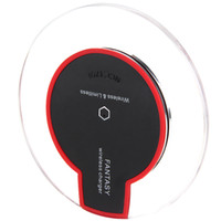 Wholesale New Hot Sale Qi Wireless Charger Charging Pad Mini for Samsung S6 iPhone S S PLUS HTC Nokia HUAWEI LG SONY
