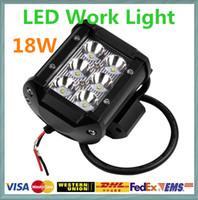 Cheap 60 Degree off road led light bar Best 1620lm 4inch LED Work Light 18w