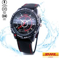 Wholesale Waterproof Mini Watch Spy DVR G G P M Pixels Digital Watch Spy Camera Record Audio MS