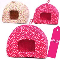 yurts - PET bed Yurts small flower nest Beds for Dogs Cats Rabbits lamb pet nest pet products