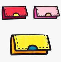 bags purse unique - New hot sale woman d bag fashion trend d cartoon unique d wallet male female Canvas clutch coin purse Birthday gift