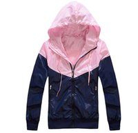Women's spring coats - Spring Autumn Women s Sport Jacket Hooded Outdoor Thin Windbreaker Zipper Sport Coats