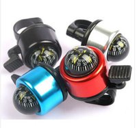 Cheap Bicycle Compass Bell bike ring alarm High quality bicycle product Metal Ring Handlebar Bell Sound alarm free shipping 5 pcs