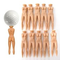 Wholesale Multifunction Nude Lady Divot Tools Tees Golf stand Individual beauty Golf Tee