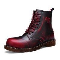 Cheap Red Combat Boots Men | Free Shipping Red Combat Boots Men ...