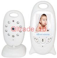 Wholesale 1PCS HHA324 Video Baby Monitor with Wireless Security Camera Way Talk Audio IR LED Night Vision Long Range Digital Signal
