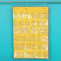 Wholesale 36 pockets Door and Wall hanging sundries Storage office supplies Organizer Bags Stationery Size cm