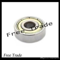 Wholesale 10PCS ABEC Deep groove ball bearing ZZ X22X7 mm bearing steel ZZ skating bearing A3
